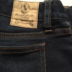 Girls Ralph Lauren Denim Leggings, Sz. 14 EUC, $10